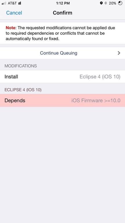 depends ios firmware 10