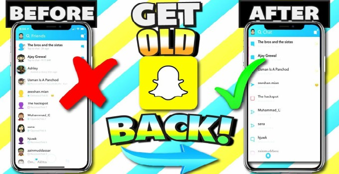 Snapchat old version download