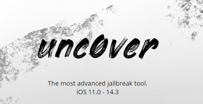 unc0ver jailbreak for iOS 14.0-14.3